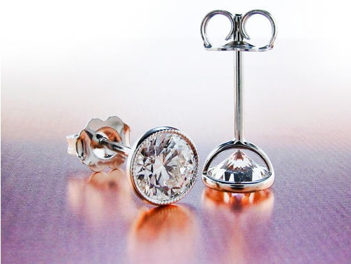 Best Diamond Stud Earrings Design