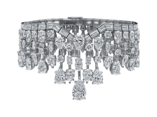 Mrs. Winston by Harry Winston, Cascading Diamond