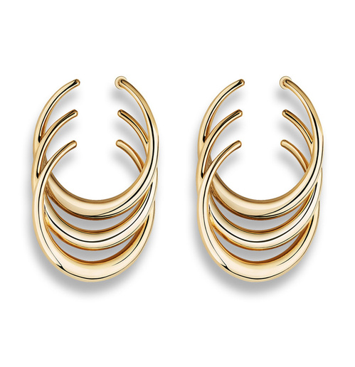 Wild in Dior gold-plated metal earrings