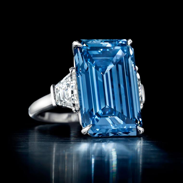 The Oppenheimer Blue became the world's most expensive jewel sold at auction when it went under the hammer for $57.7 million at Christie's Geneva in May